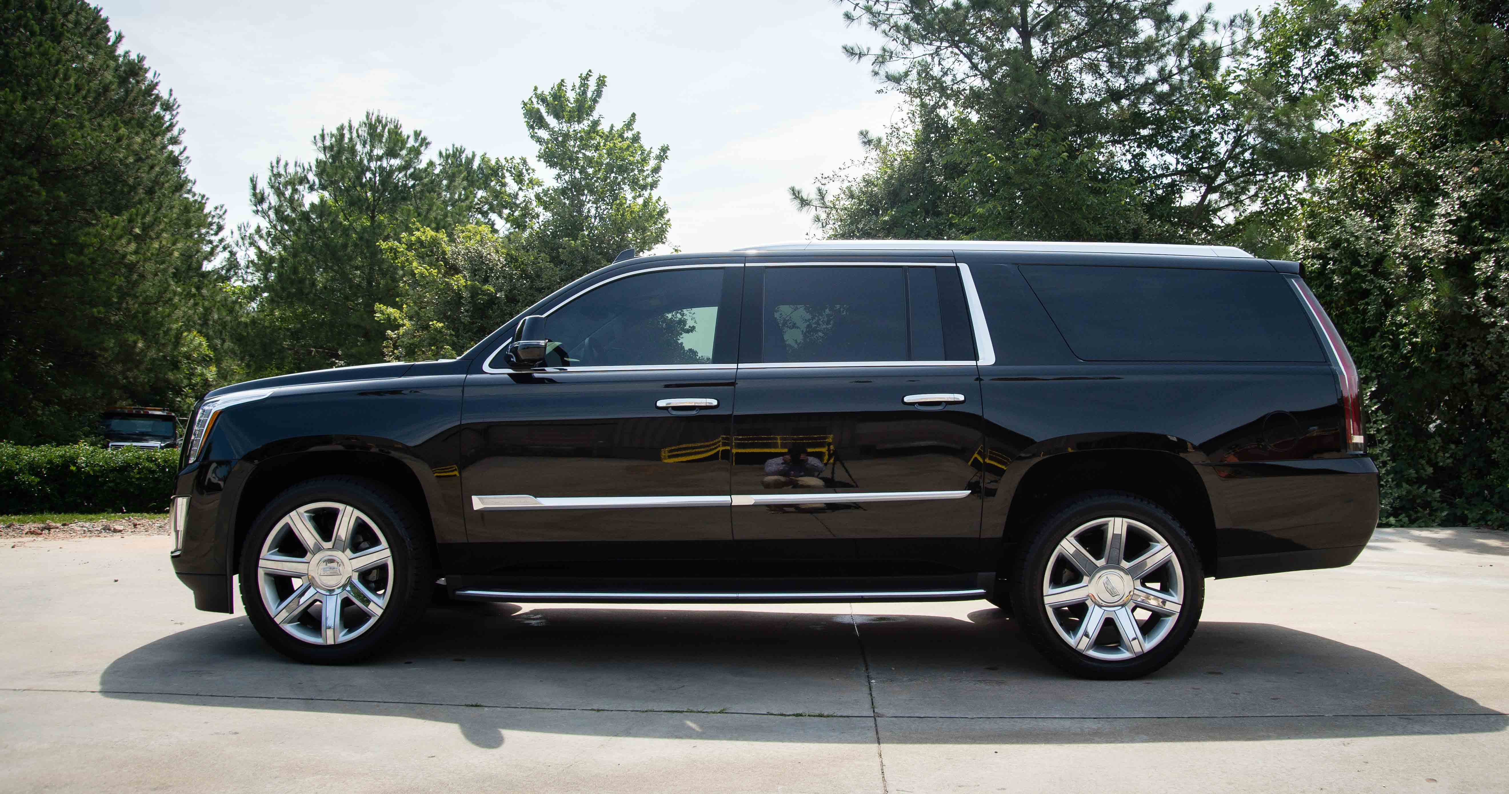 accessories cadillac escalade ecostyle chauffeured transportation vehicles dsc