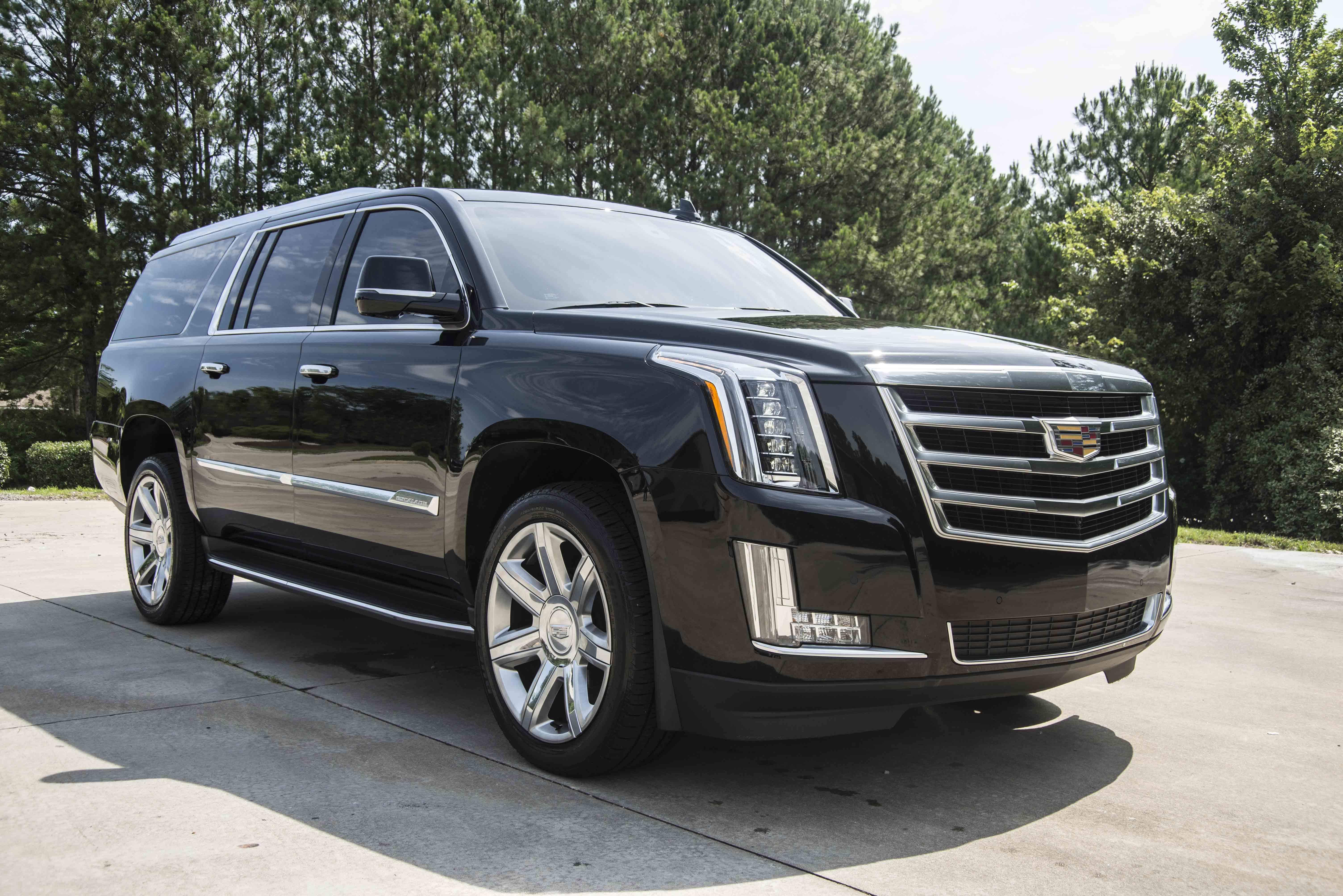 cadillac ecostyle accessories transportation vehicles chauffeured dsc escalade