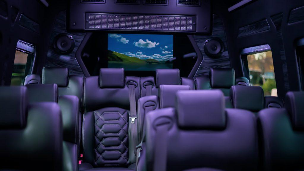 Mercedes Sprinter 14 Passenger Luxury